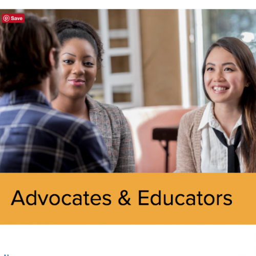 Click here to visit Advocates & Educators