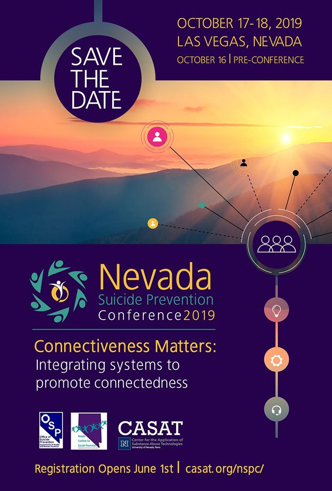 Nevada Suicide Prevention Conference Save the Date