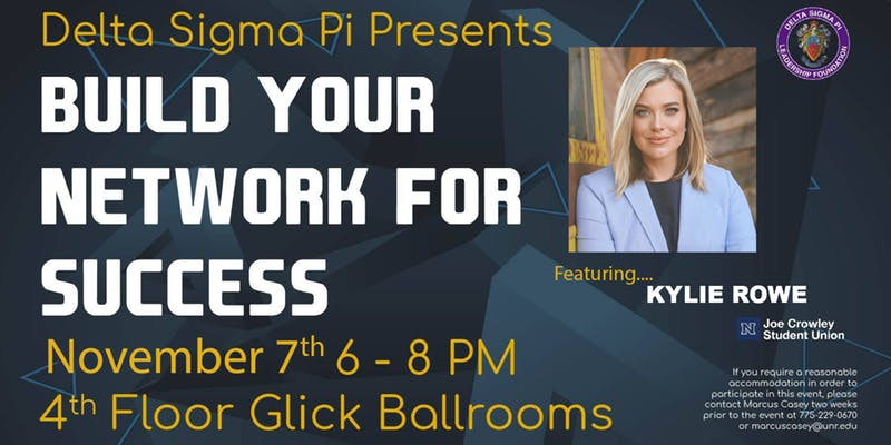 Build Your Network For Success @ Joe Crowley Student Union - 4th Floor Glick Ballrooms