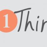 #1thing