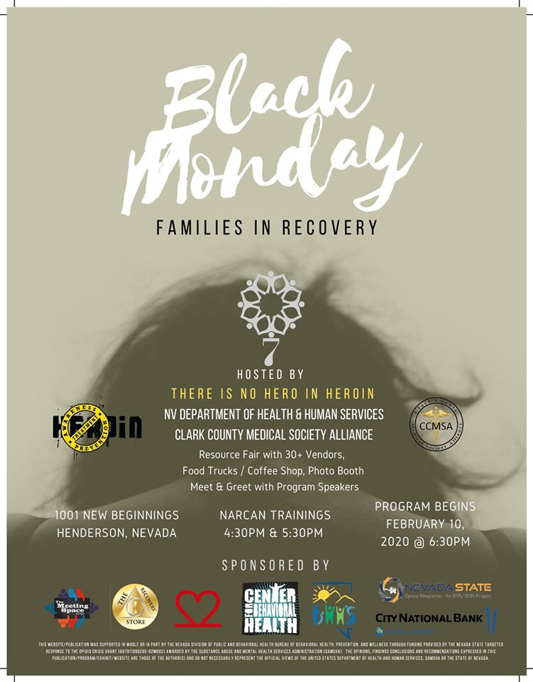 Black Monday: Families in Recovery @ Central Christian Church