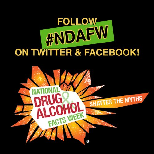 National Drug and Alcohol Facts Week® (NDAFW)