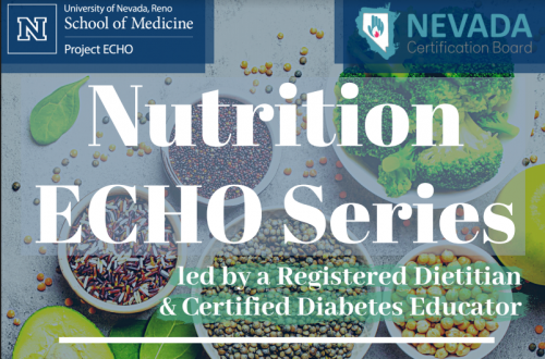 Nutrition Echo Series @ Online Event