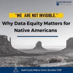 We are not invisible why data equity matters for native americans