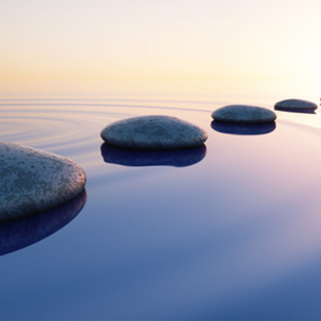 ACT Stones in water