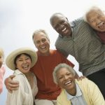 Group of senior adults Laughing