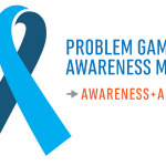 PROBLEM GAMBLING AWARENESS MONTH LOGO