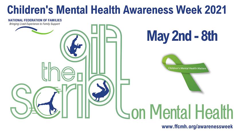 Children's Mental Health Awareness Week logo