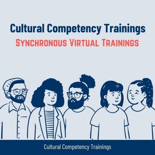 Cultural Competency Training @ Synchronous Virtual Training