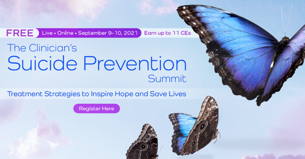 The Clinician's Suicide Prevention Summit @ Virtual Event
