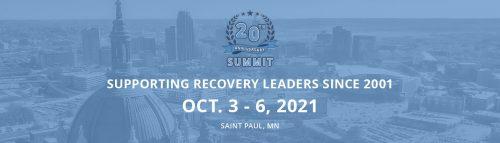20TH ANNIVERSARY / RECOVERY LEADERSHIP SUMMIT @ Saint Paul RiverCentre