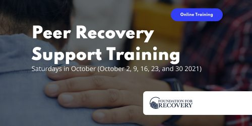 Online Peer Recovery Support Specialist Training @ Virtual Event