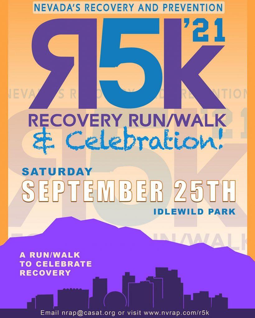 NRAP's Recovery 5k Run/Walk - Recovery Day Celebration @ IdleWild Park