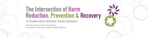 The Intersection of Harm Reduction, Prevention and Recovery - Part 1 @ Virtual Event