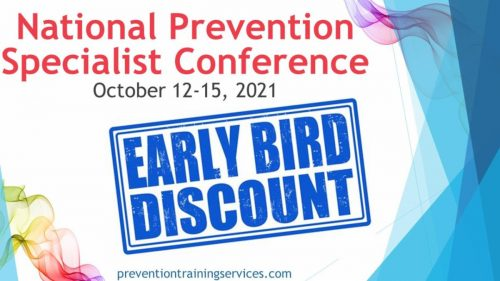 National Prevention Specialist Conference @ Virtual Event
